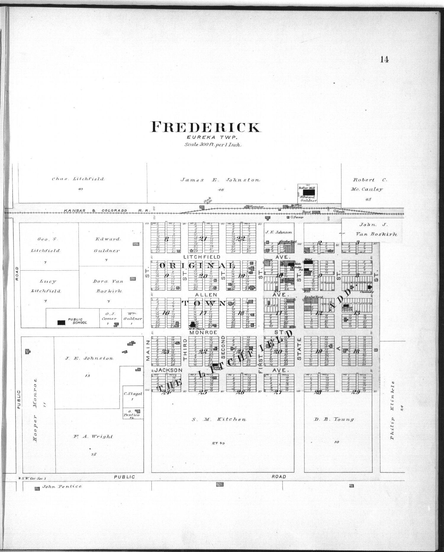 Plat book of Rice County, Kansas - 14