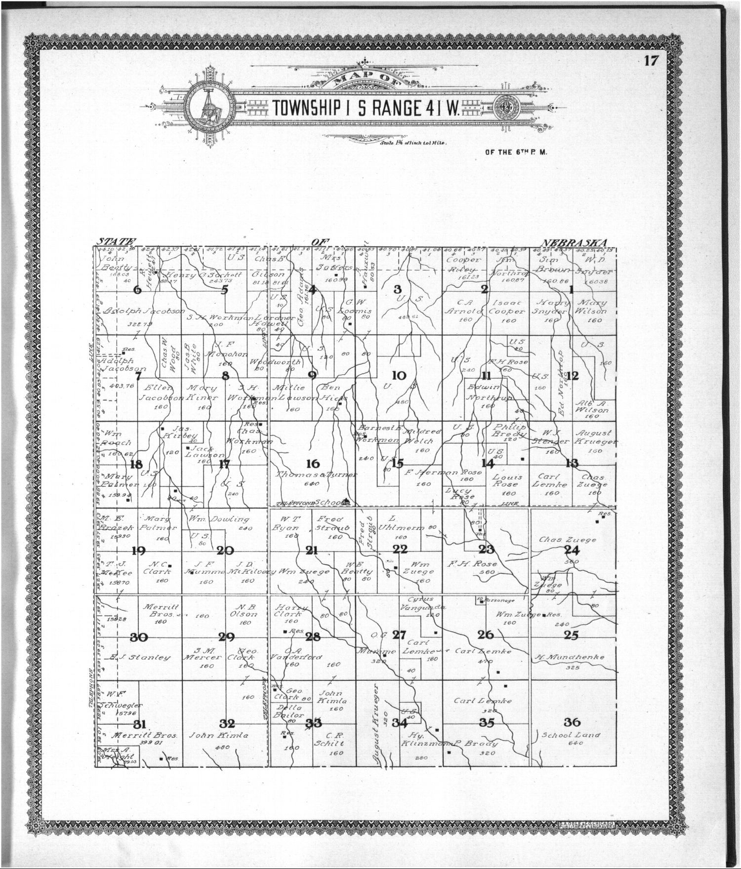 Standard atlas of Cheyenne County, Kansas - 17
