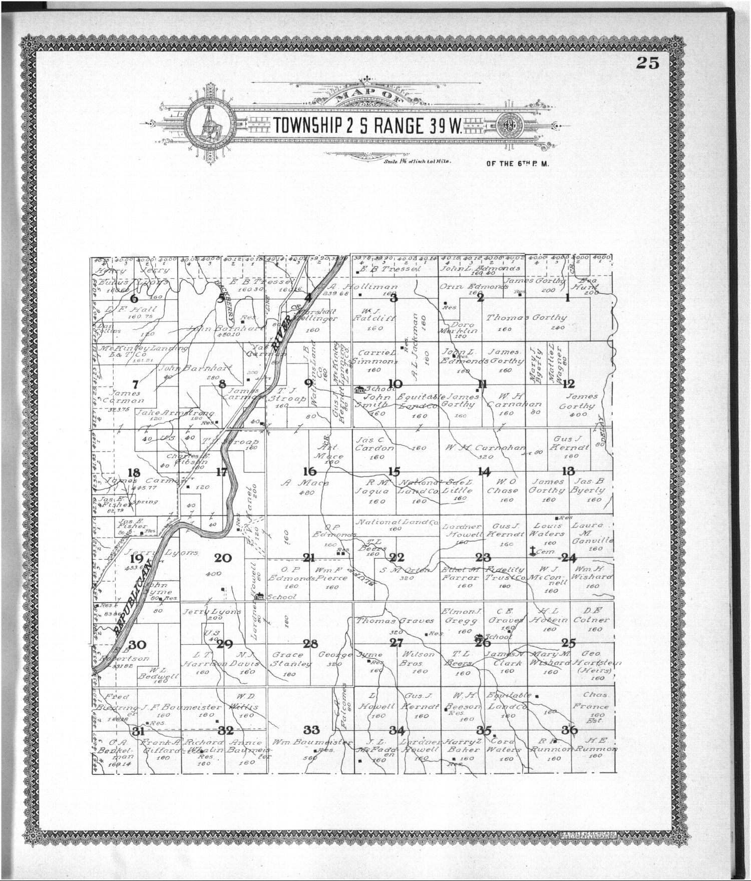 Standard atlas of Cheyenne County, Kansas - 25