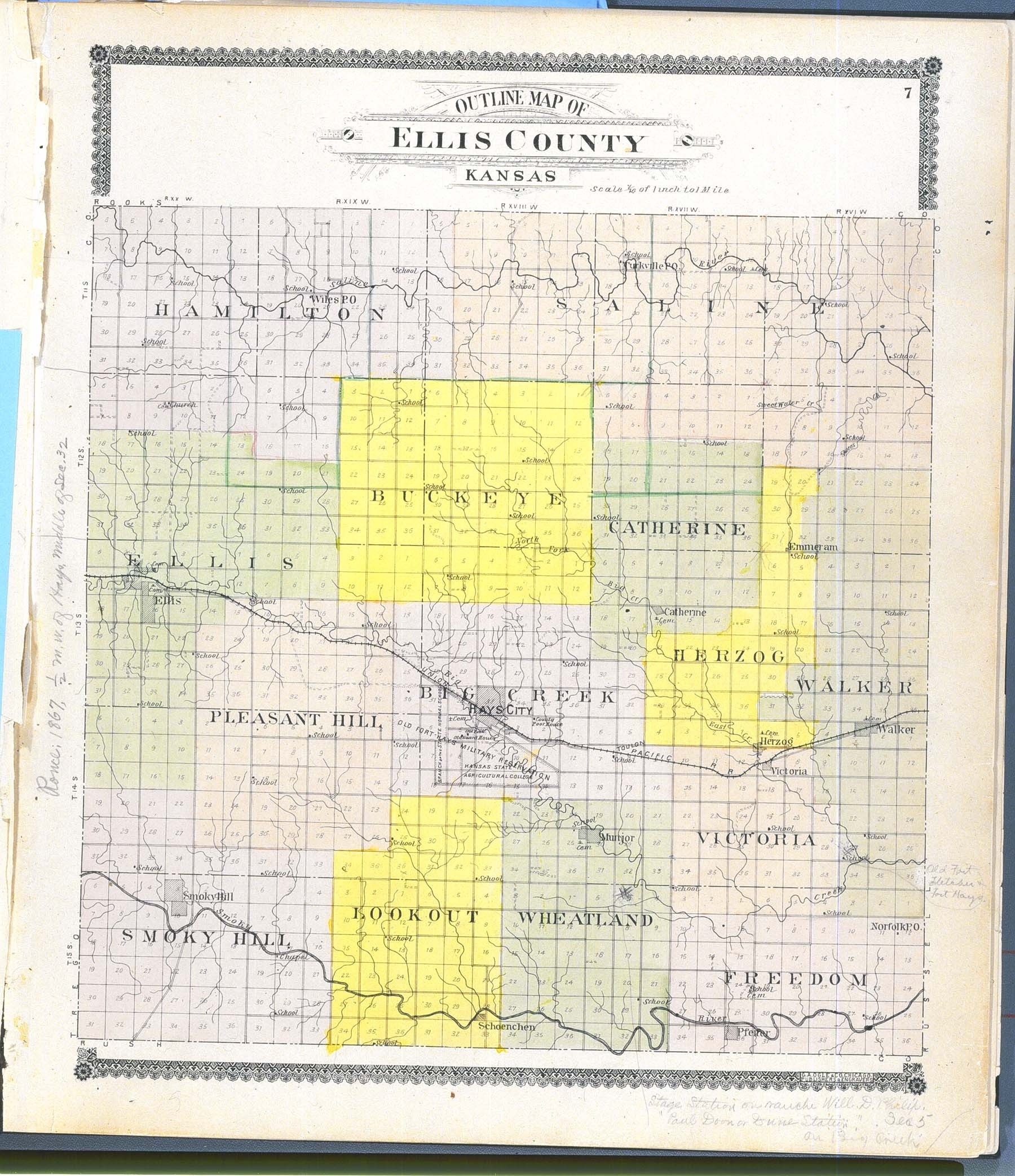 Standard atlas of Ellis County, Kansas - 7