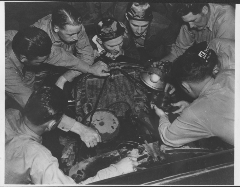 Automobile repair class