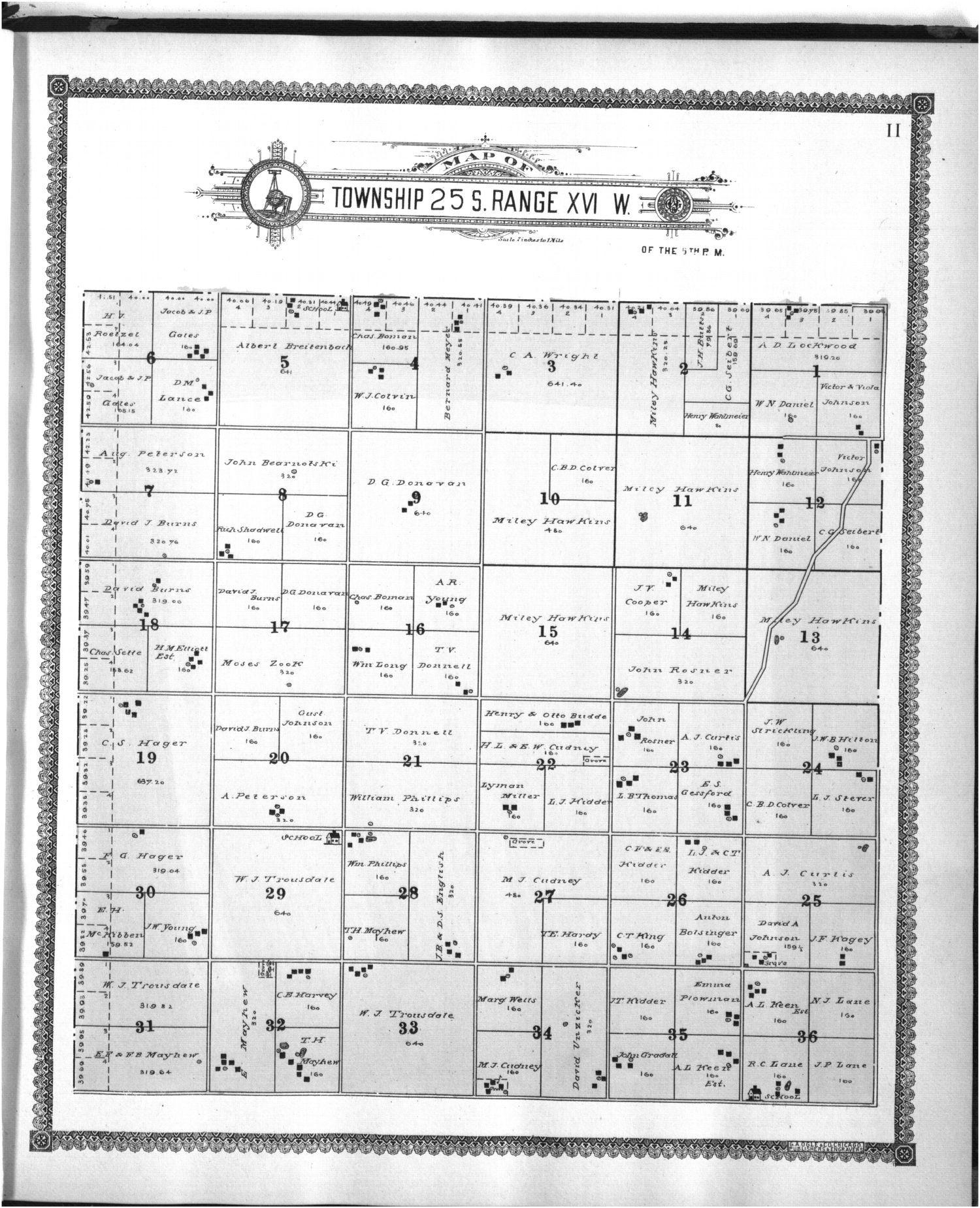 Standard atlas of Edwards County - 11
