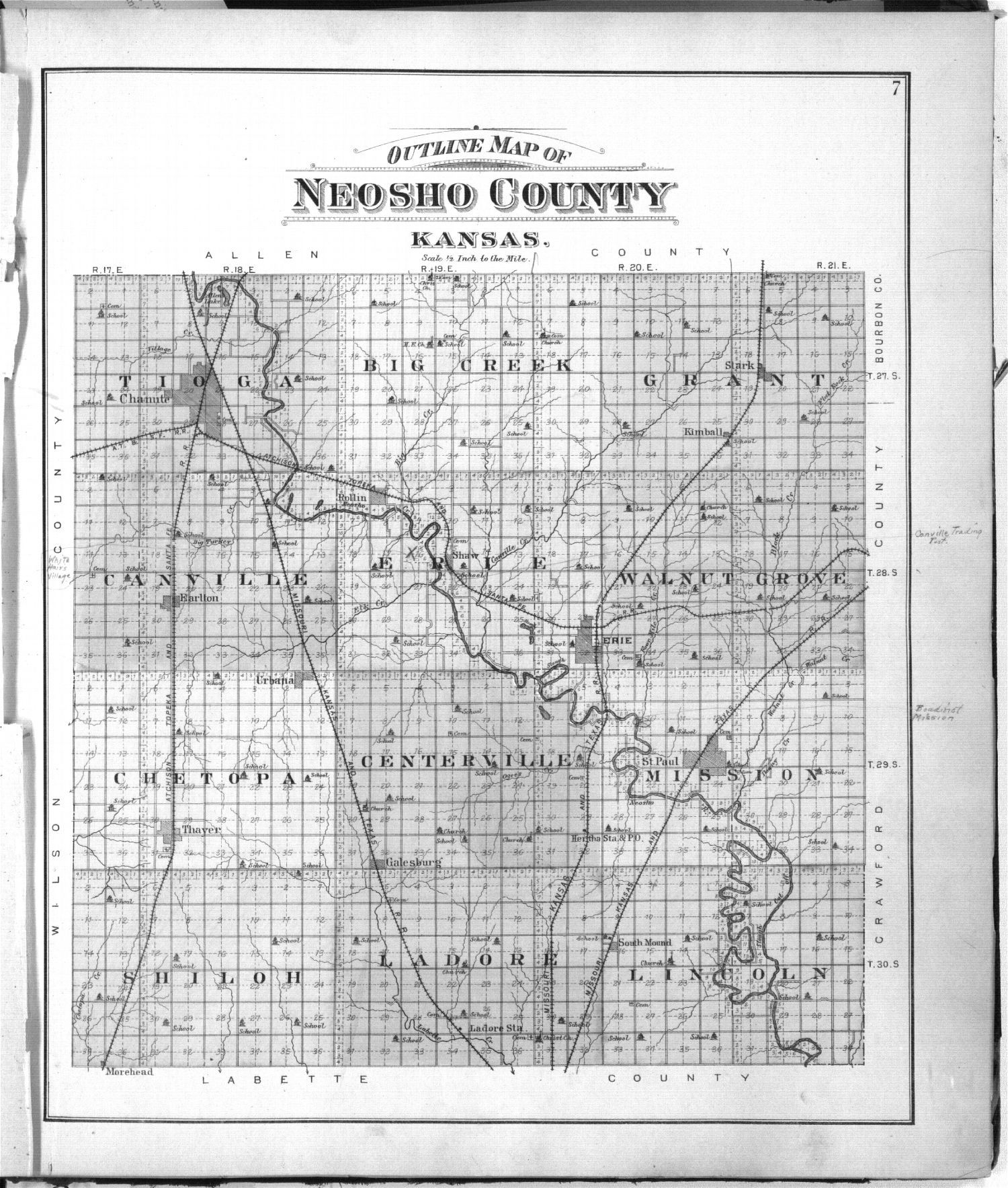 Standard atlas of Neosho County, Kansas - 7