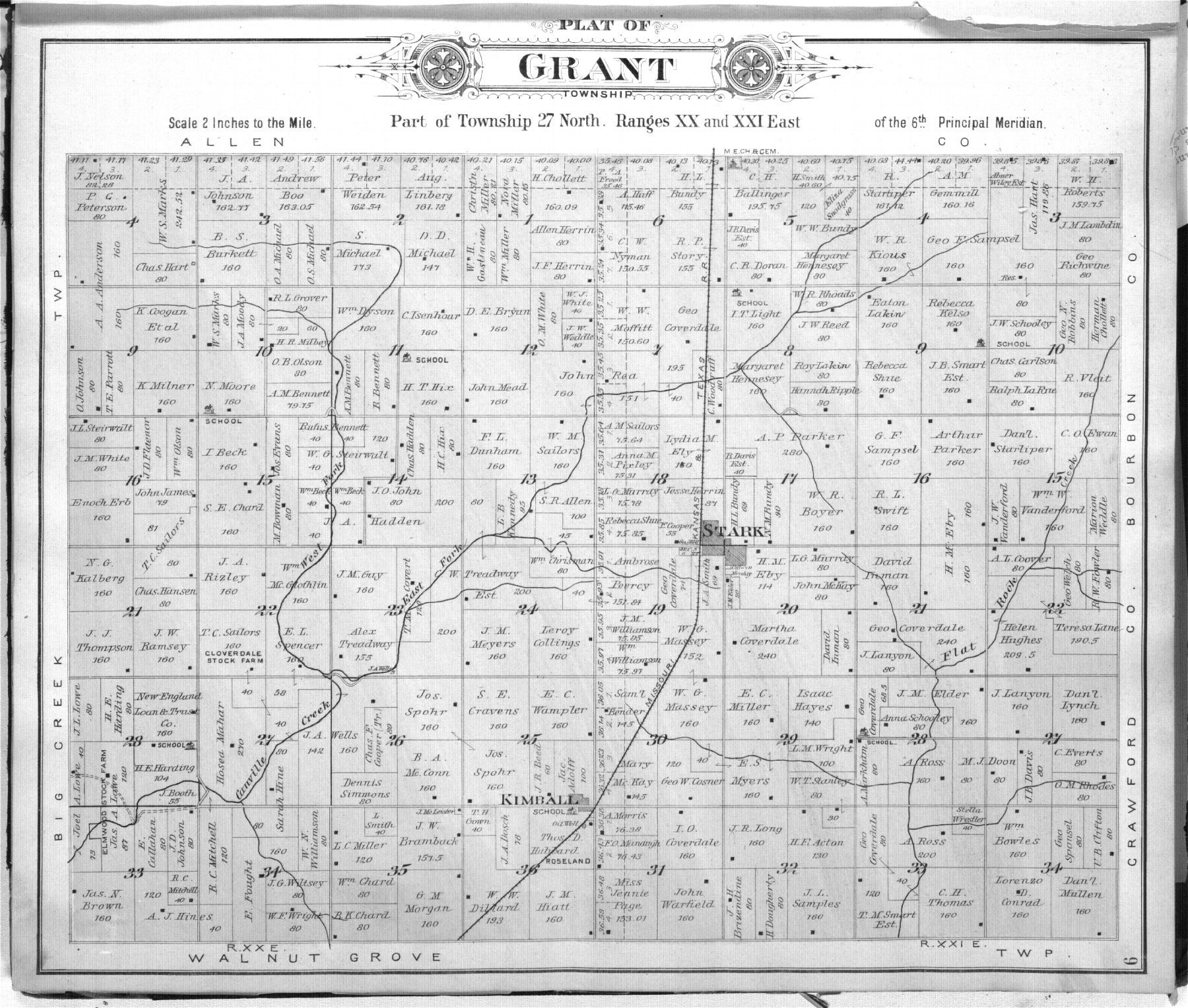 Standard atlas of Neosho County, Kansas - 9