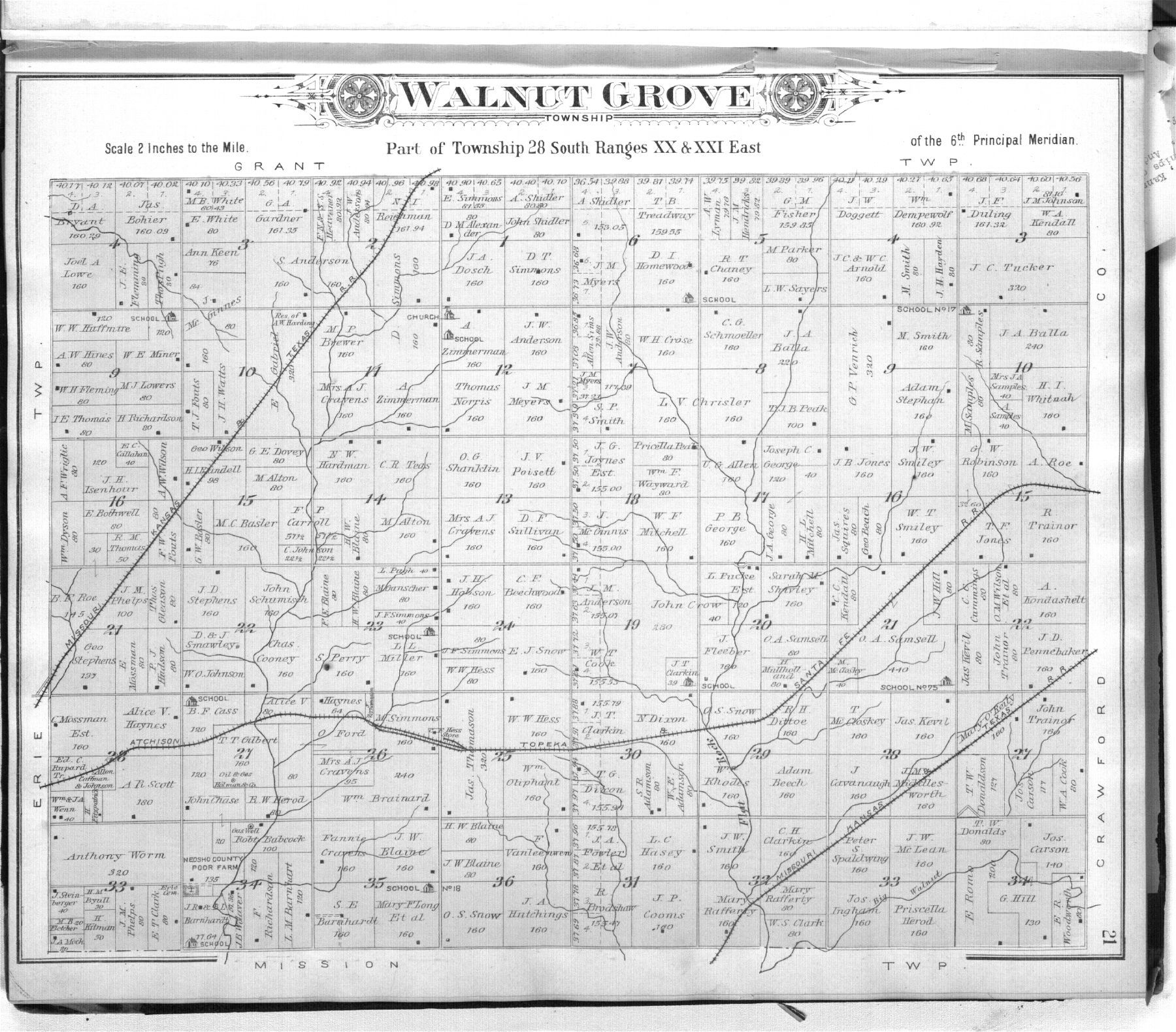 Standard atlas of Neosho County, Kansas - 21