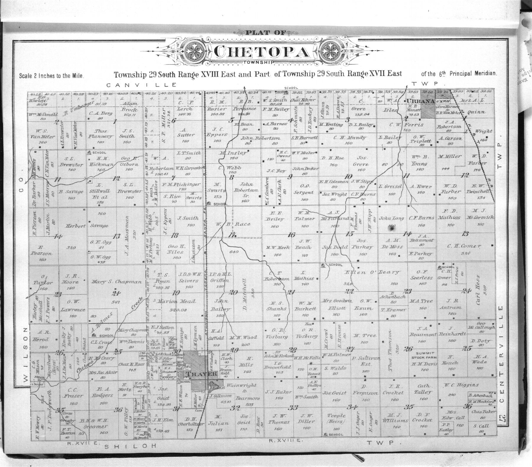 Standard atlas of Neosho County, Kansas - 27