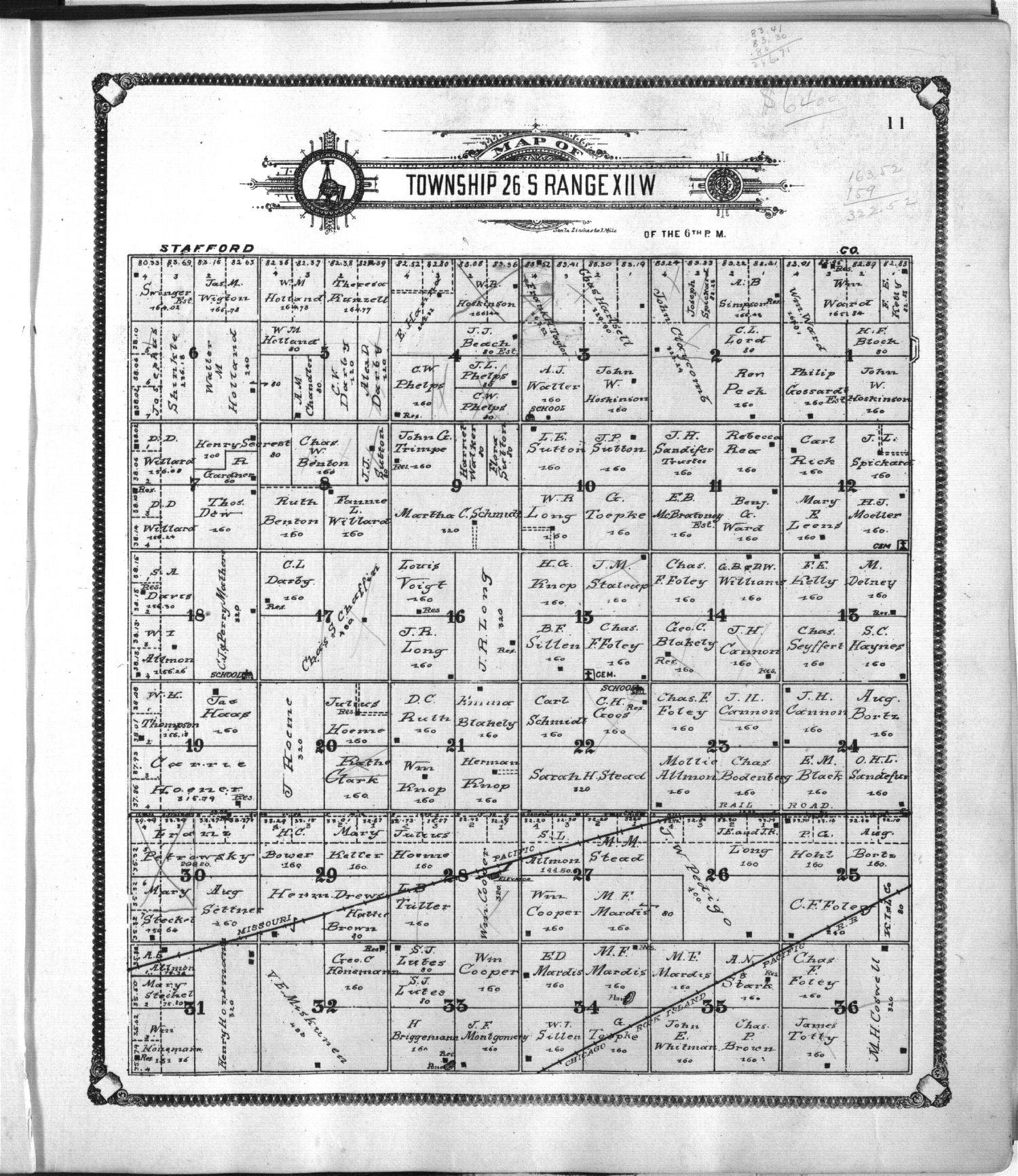Standard atlas of Pratt County, Kansas - 11
