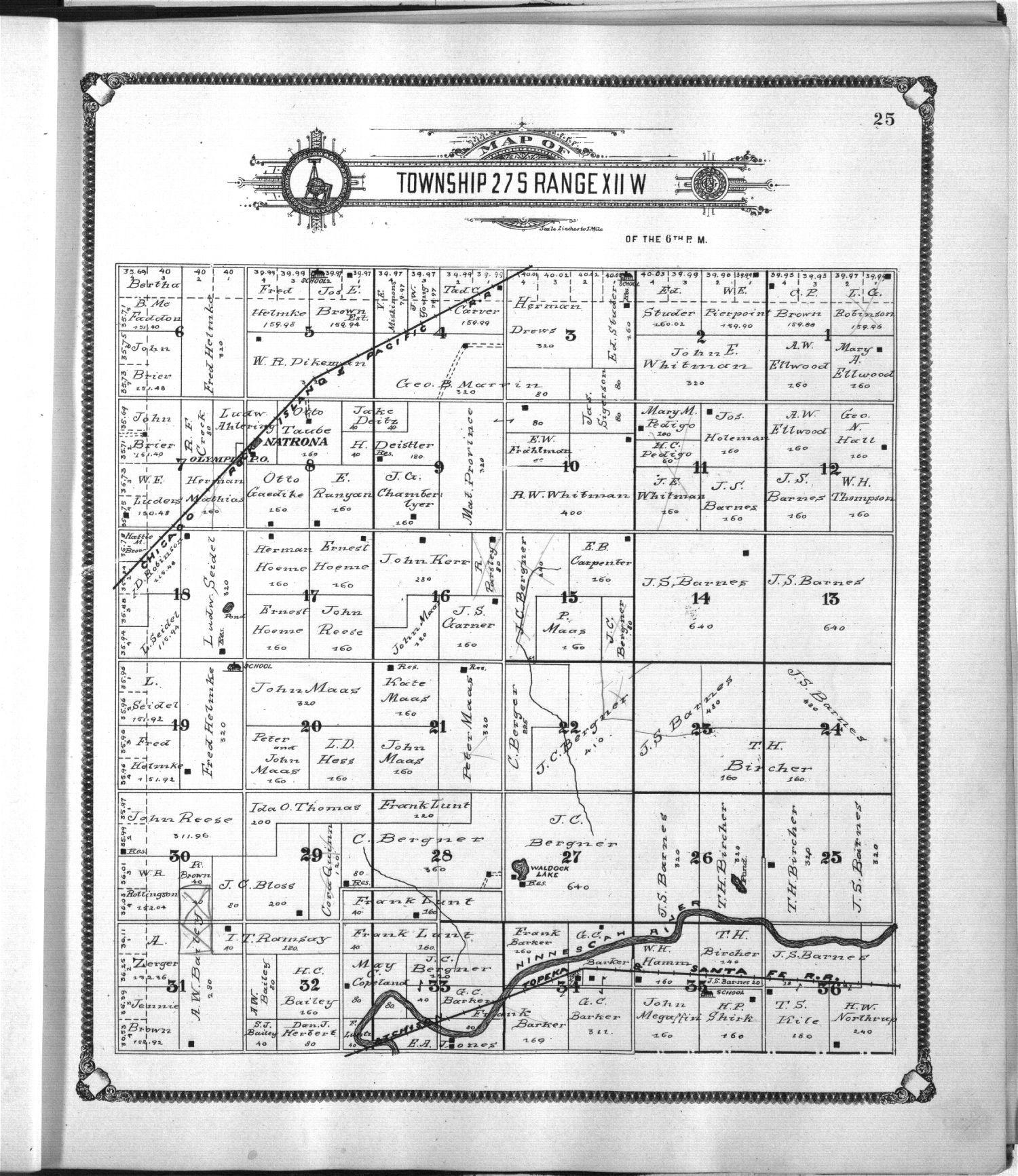 Standard atlas of Pratt County, Kansas - 25