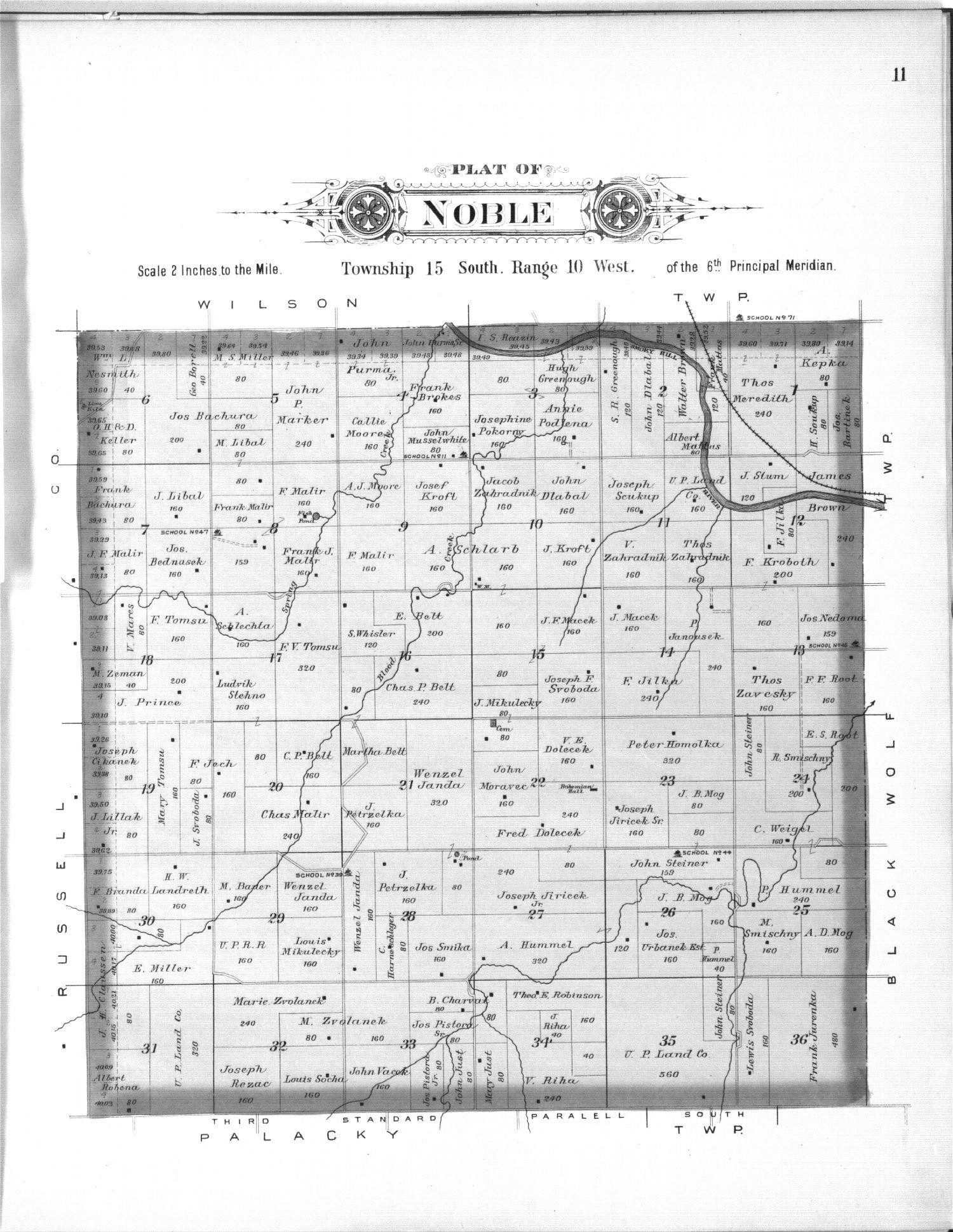 Plat book, Ellsworth County, Kansas - 11
