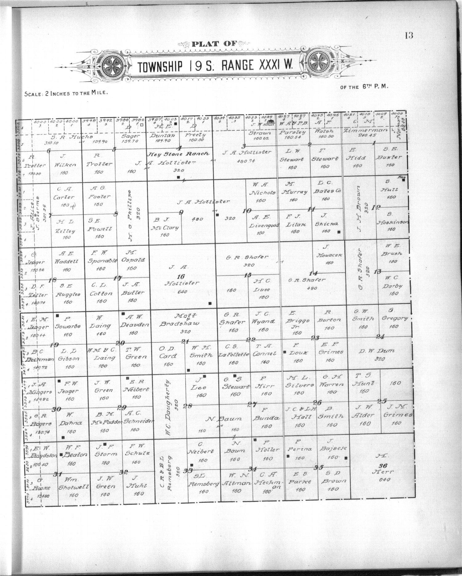 Plat book of Scott County, Kansas - 7