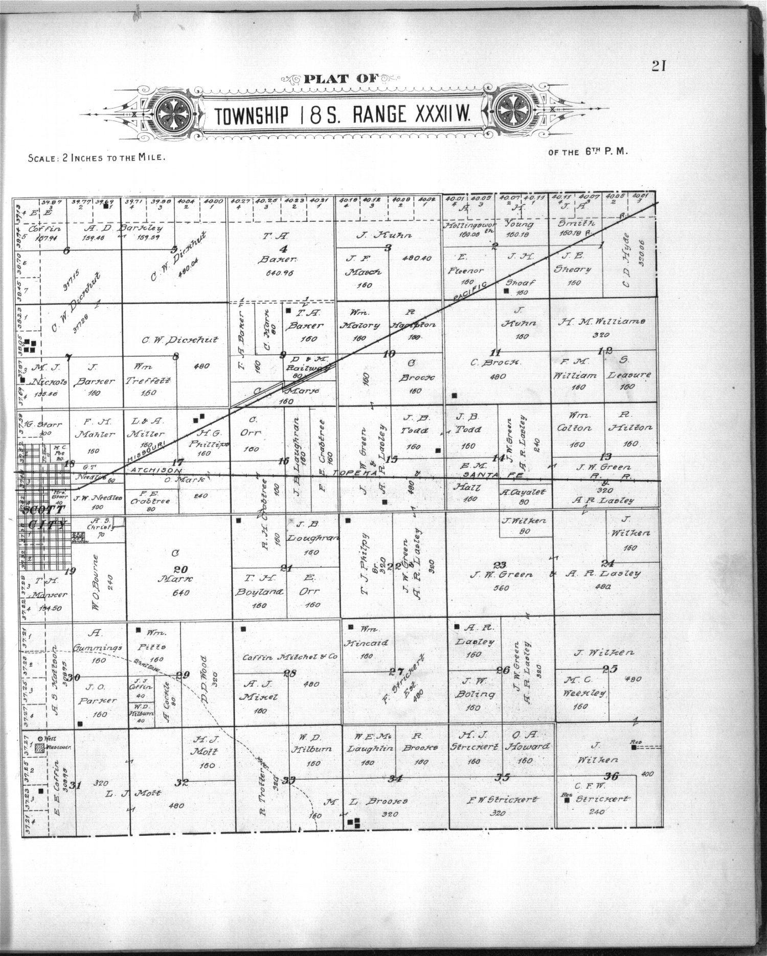 Plat book of Scott County, Kansas - 11