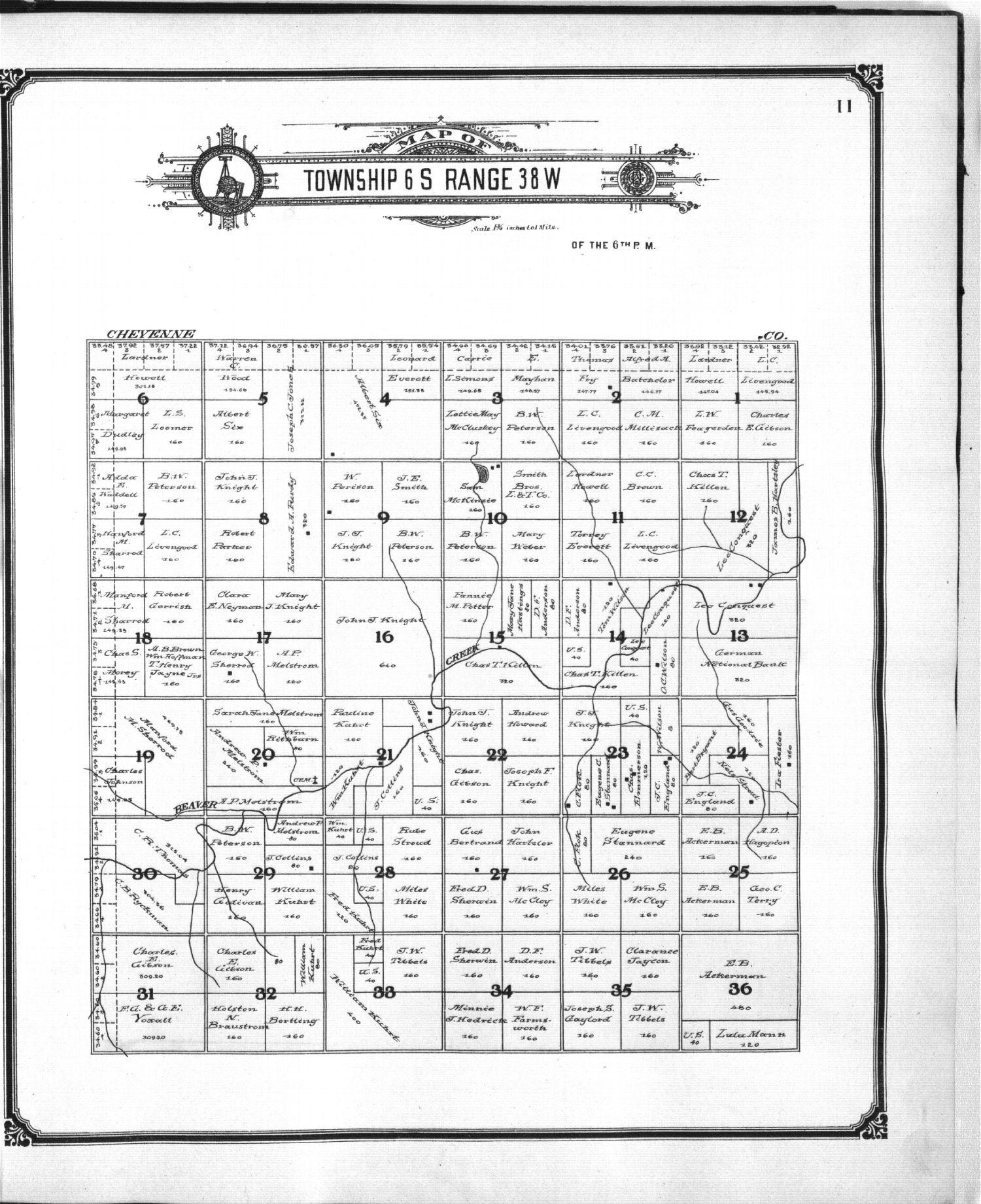 Standard atlas of Sherman County, Kansas - 11