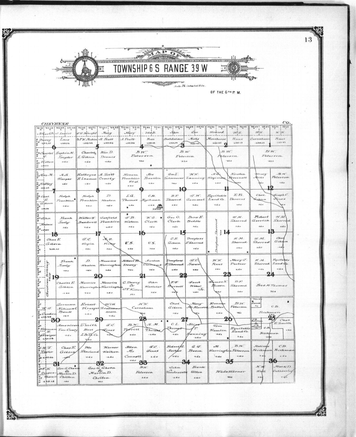 Standard atlas of Sherman County, Kansas - 13