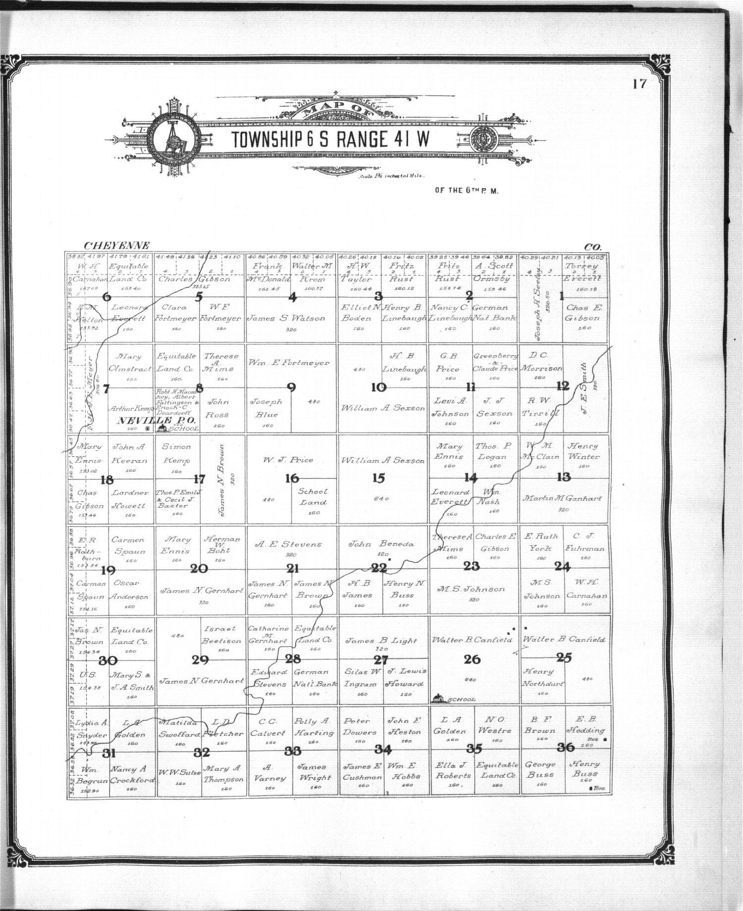 Standard atlas of Sherman County, Kansas - 17