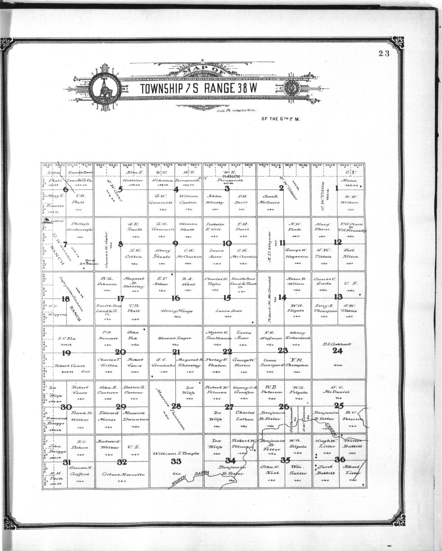 Standard atlas of Sherman County, Kansas - 23