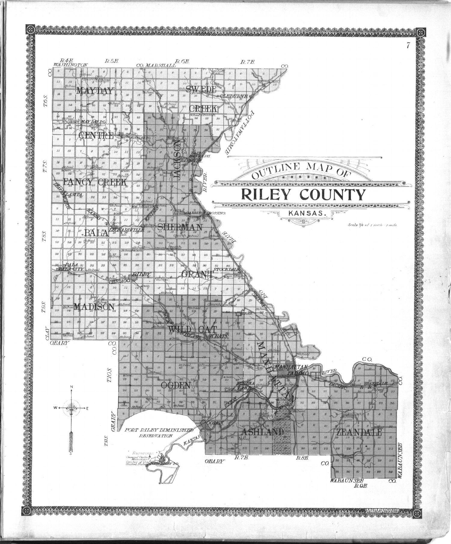 Standard atlas of Riley County, Kansas - 7