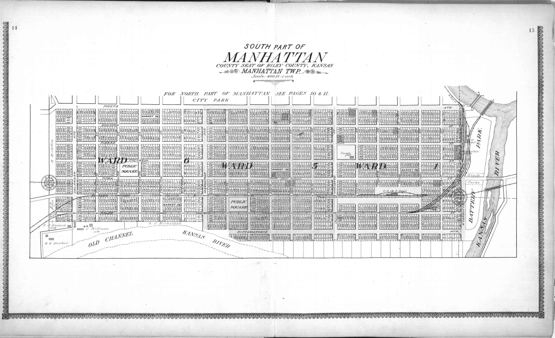 Standard atlas of Riley County, Kansas - 14 & 15