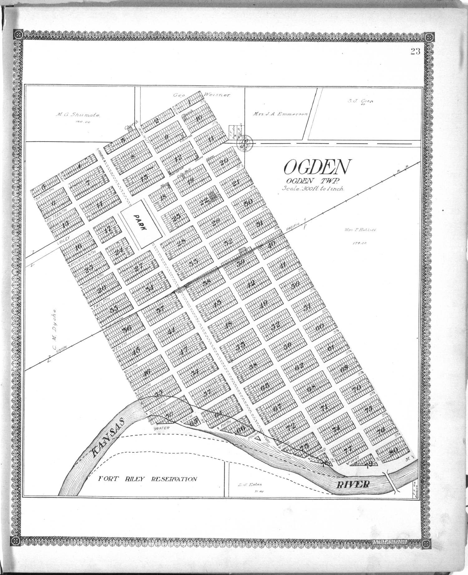 Standard atlas of Riley County, Kansas - 23