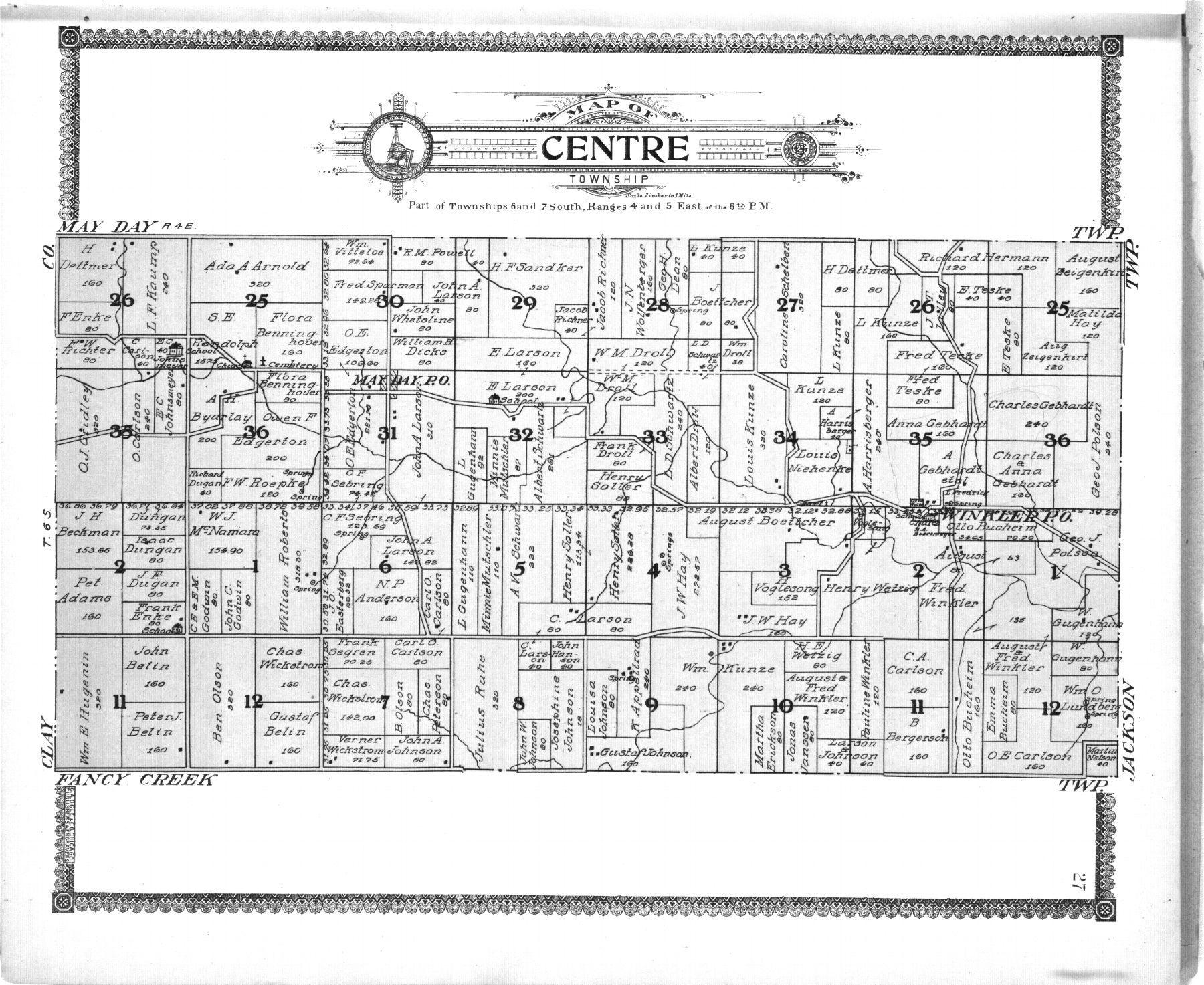 Standard atlas of Riley County, Kansas - 27