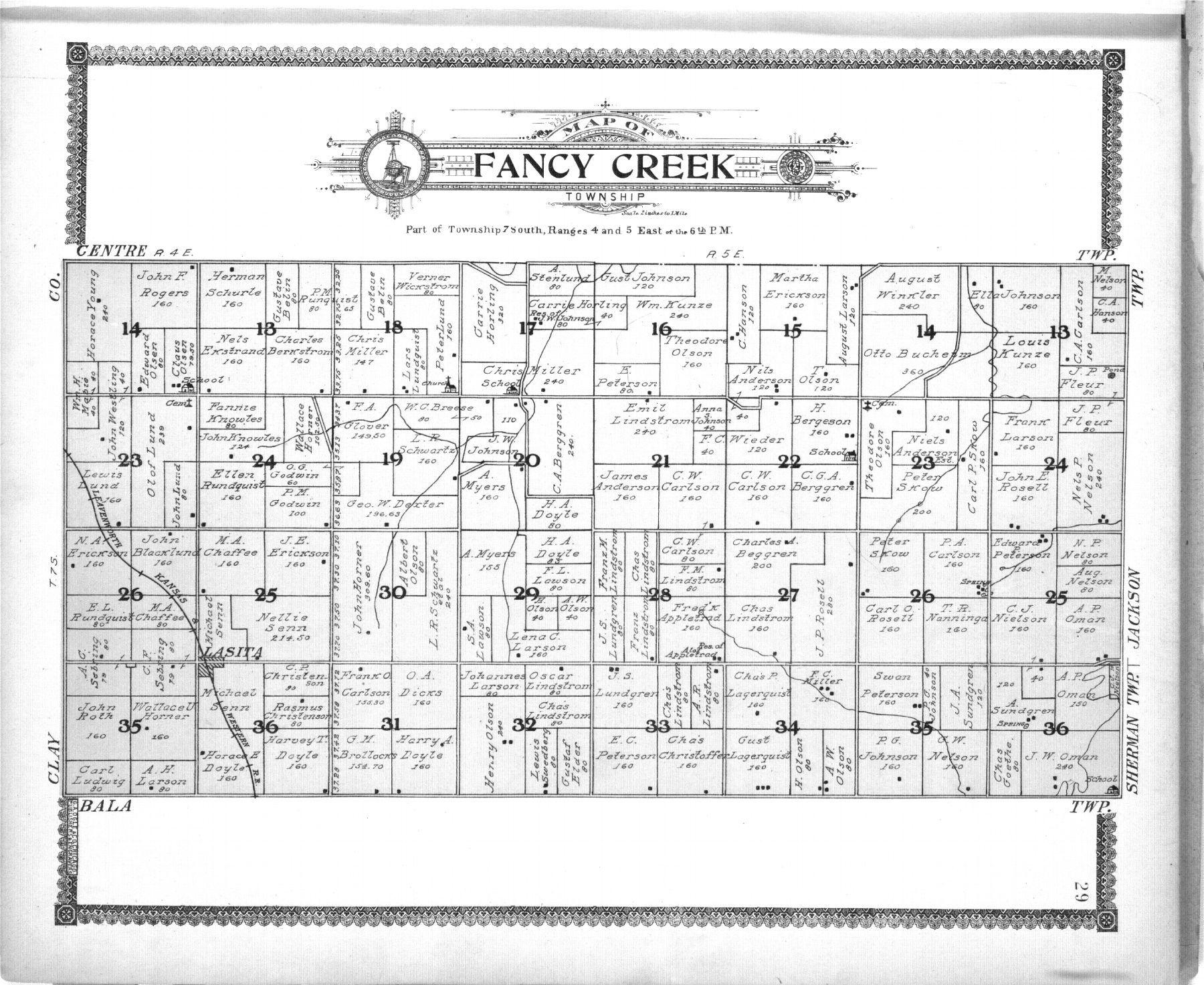 Standard atlas of Riley County, Kansas - 29