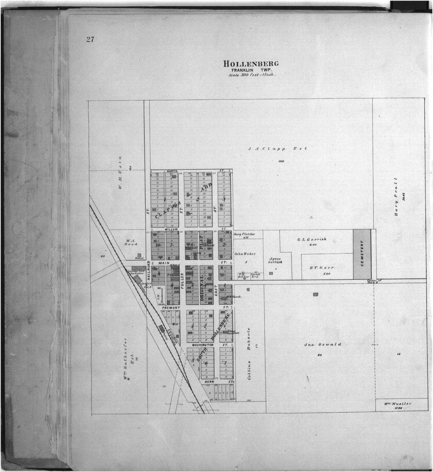 Plat book of Washington County, Kansas - 27