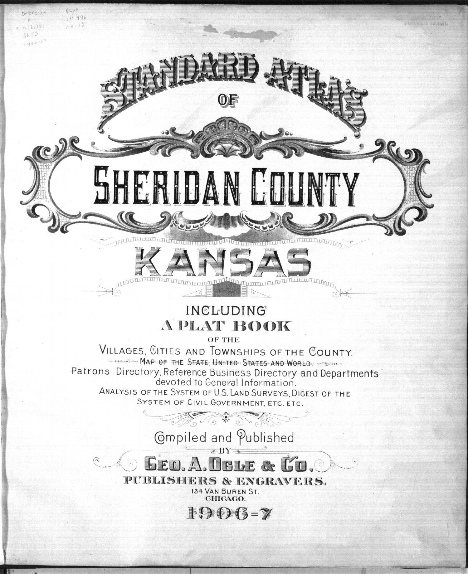 Standard atlas of Sheridan County, Kansas - 1