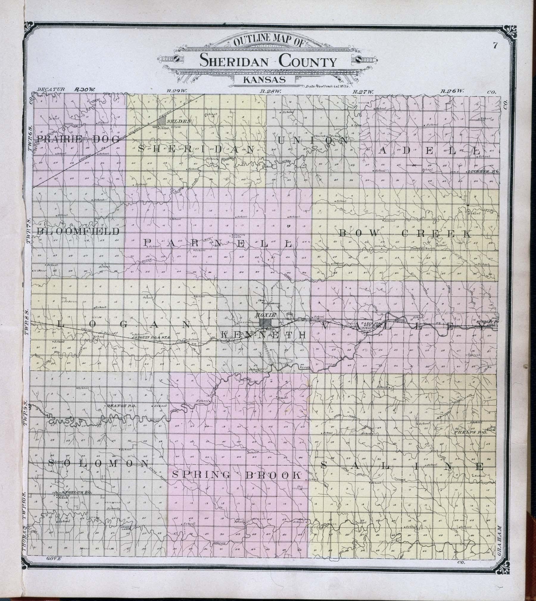 Standard atlas of Sheridan County, Kansas - 3