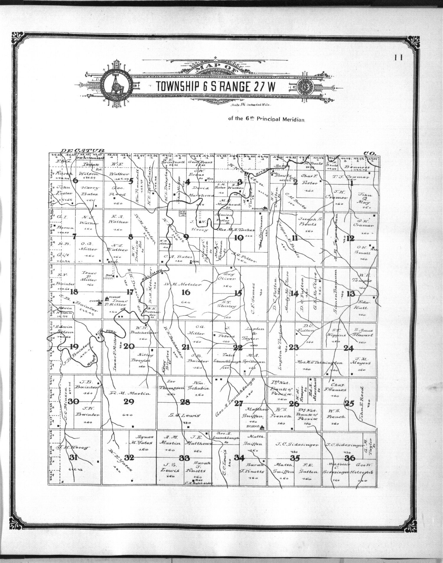 Standard atlas of Sheridan County, Kansas - 5
