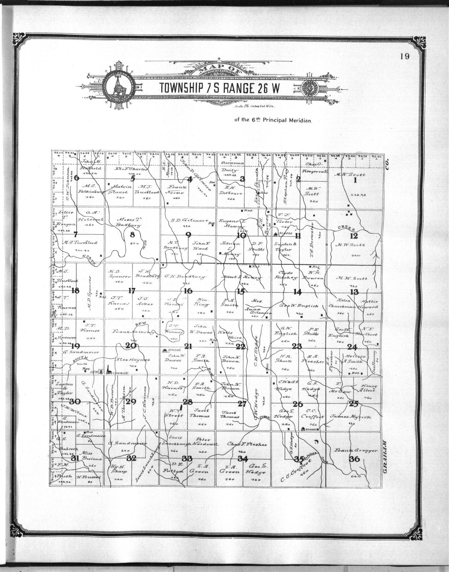 Standard atlas of Sheridan County, Kansas - 9