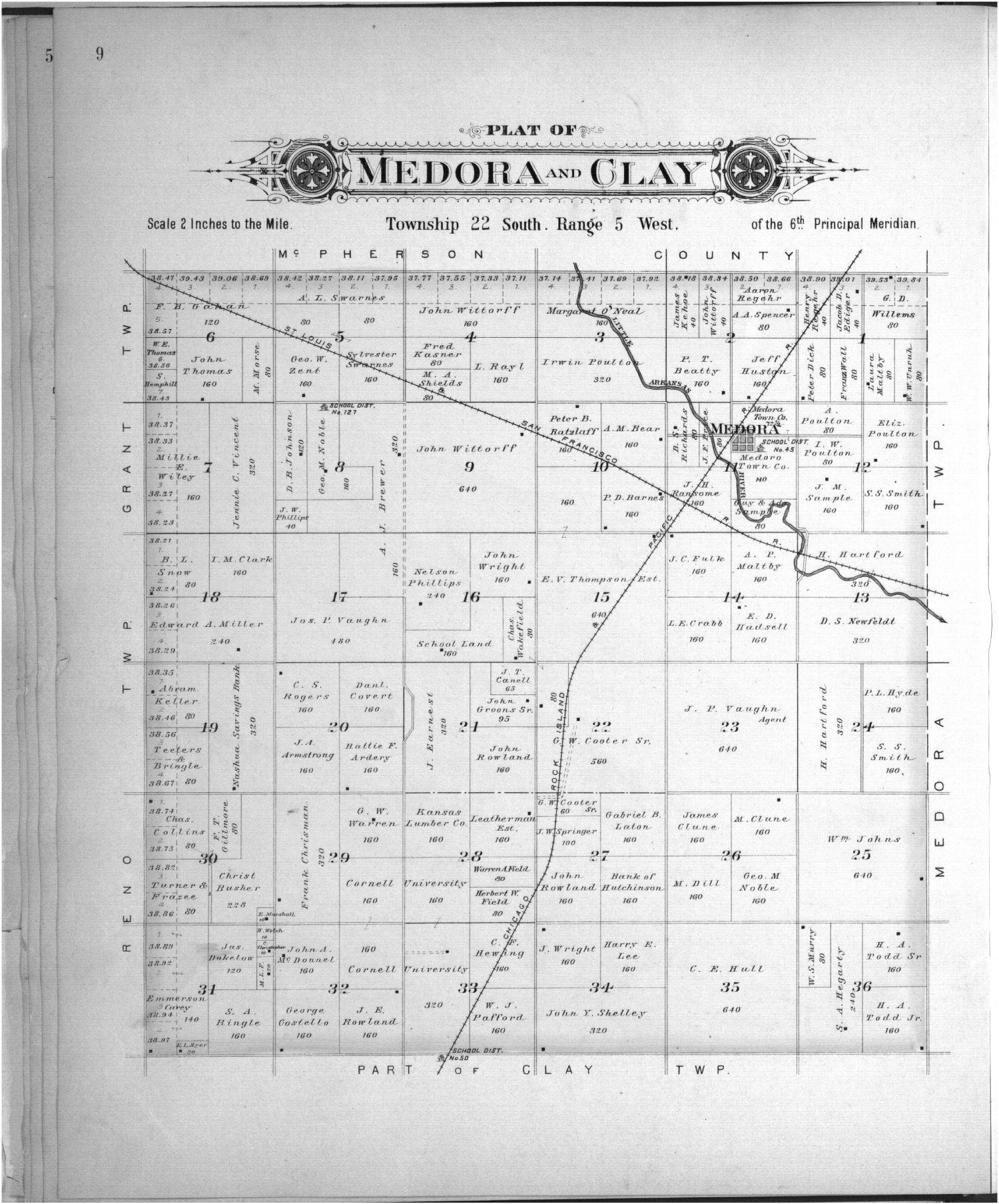 Plat book of Reno County, Kansas - 9