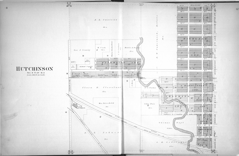 Plat book of Reno County, Kansas - 11 & 12