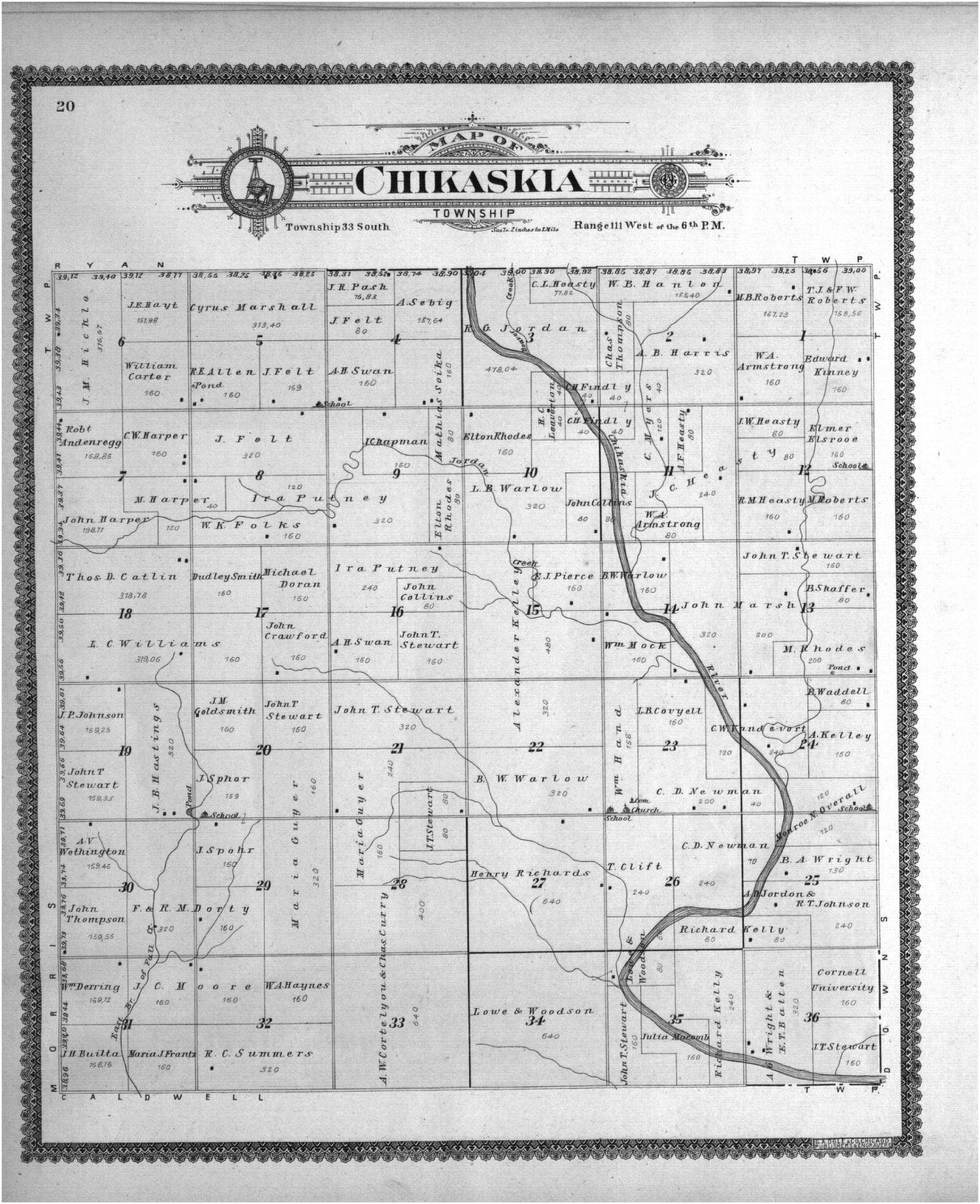 Standard atlas of Sumner County, Kansas - 20