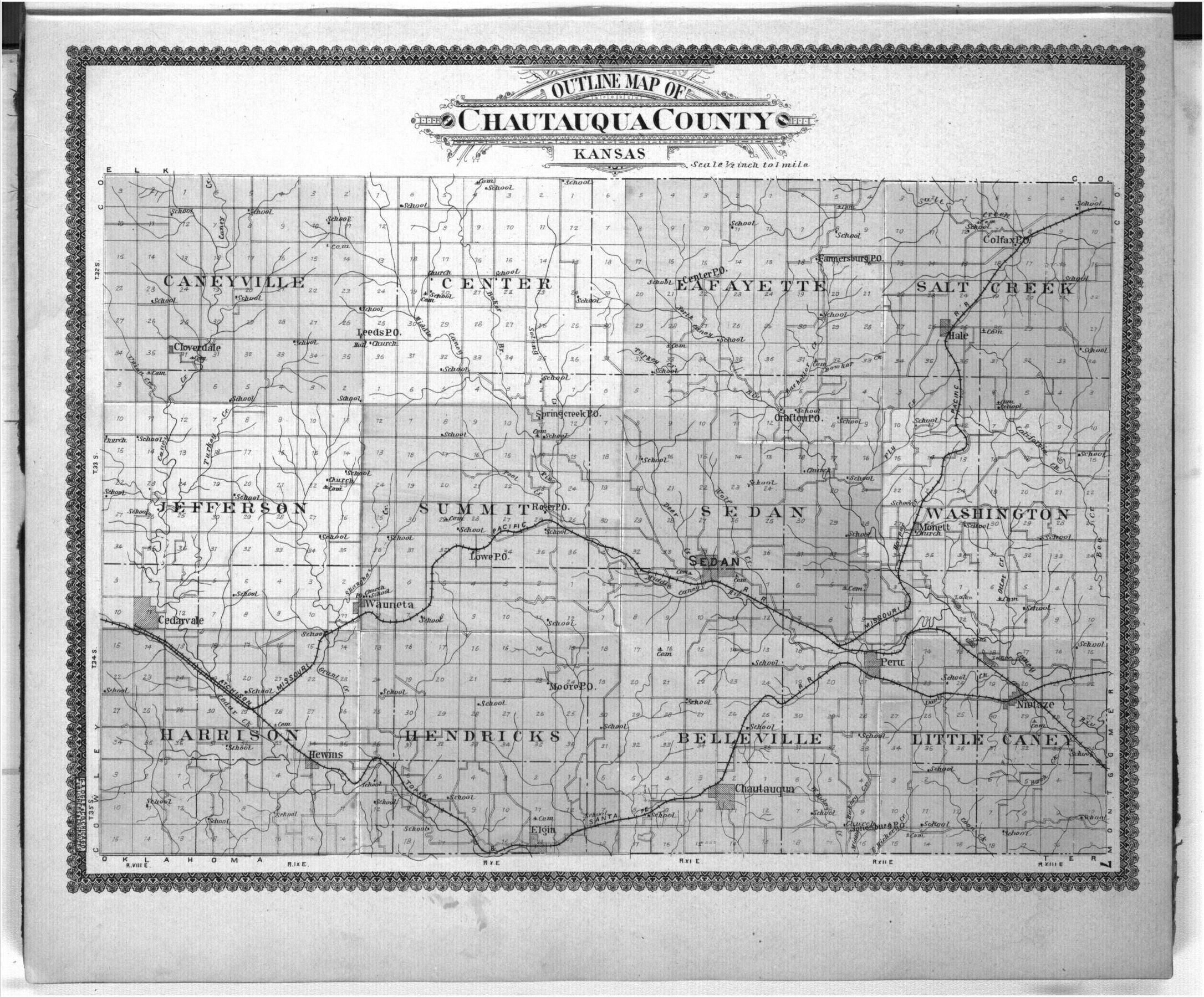 Standard atlas of Chautauqua County, Kansas - 7