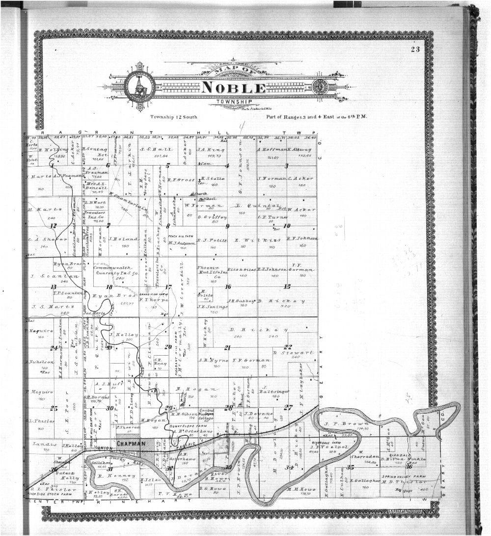 Standard atlas, Dickinson County, Kansas - 23