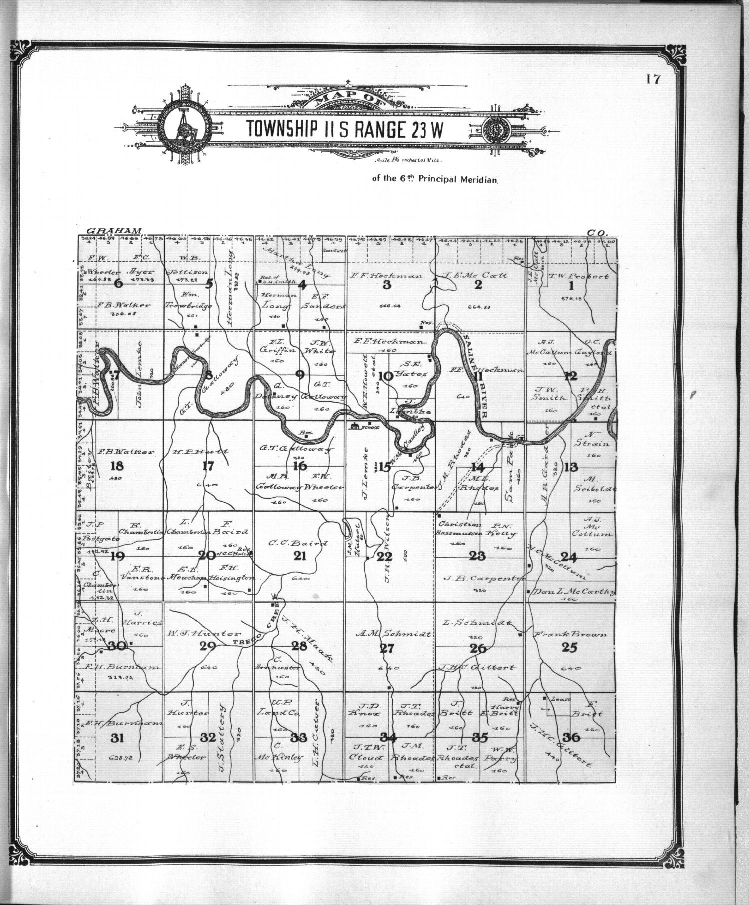 Standard atlas of Trego County, Kansas - 9