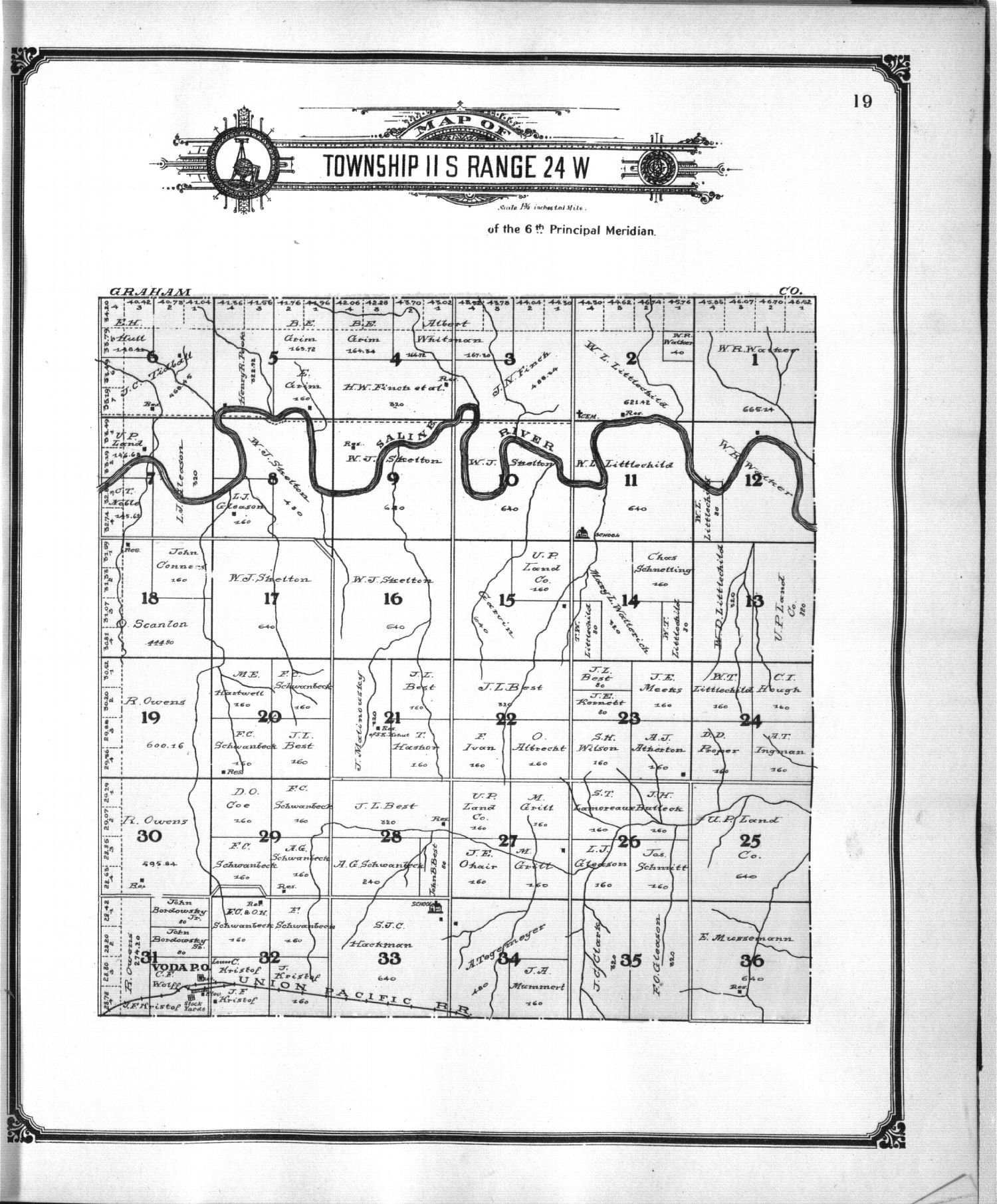 Standard atlas of Trego County, Kansas - 10