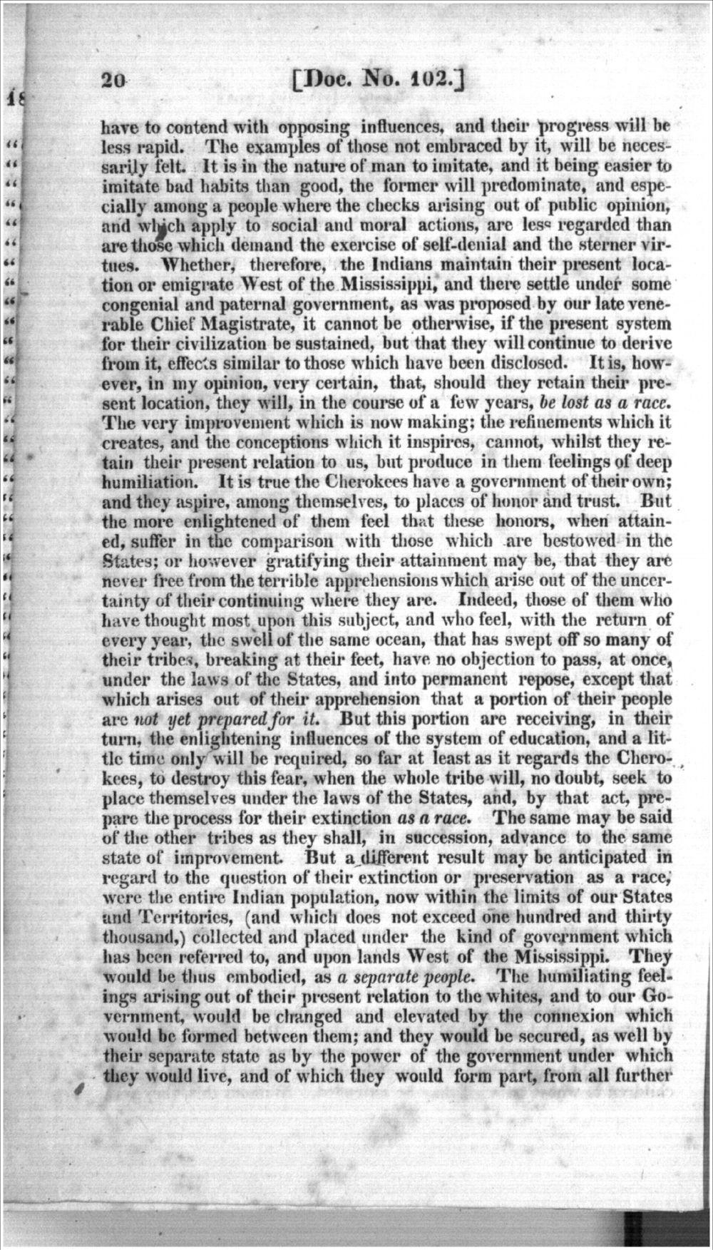 Thomas L. McKenney to James Barbour - 6