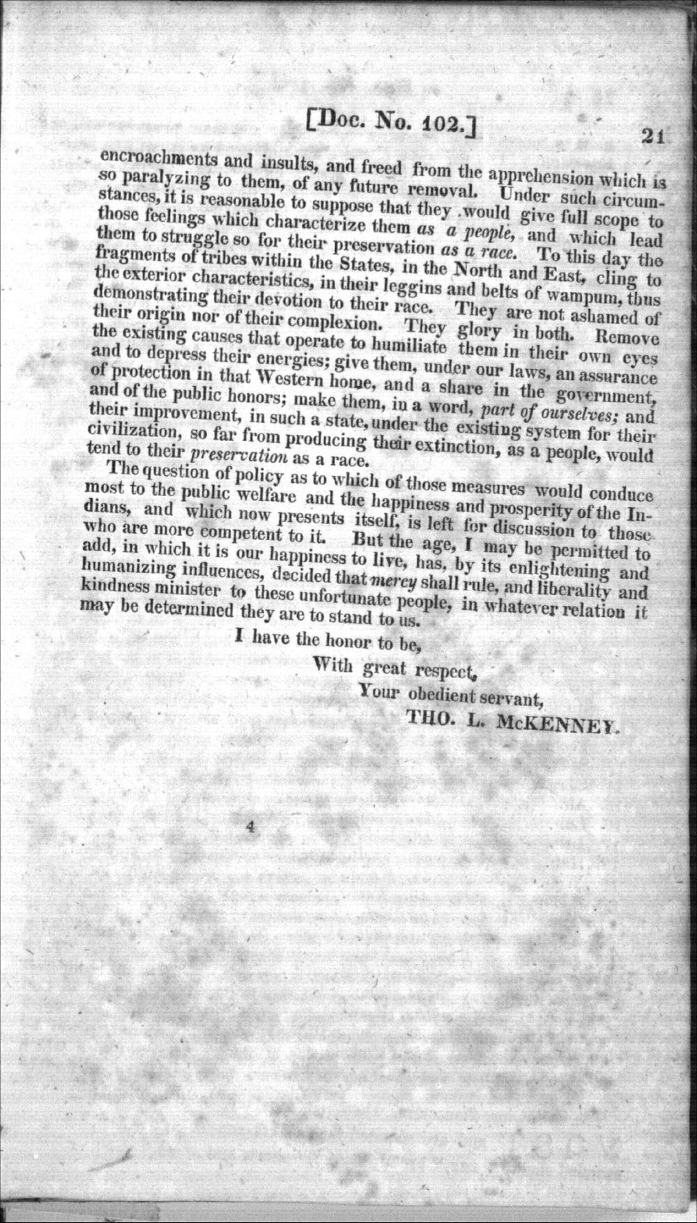 Thomas L. McKenney to James Barbour - 7