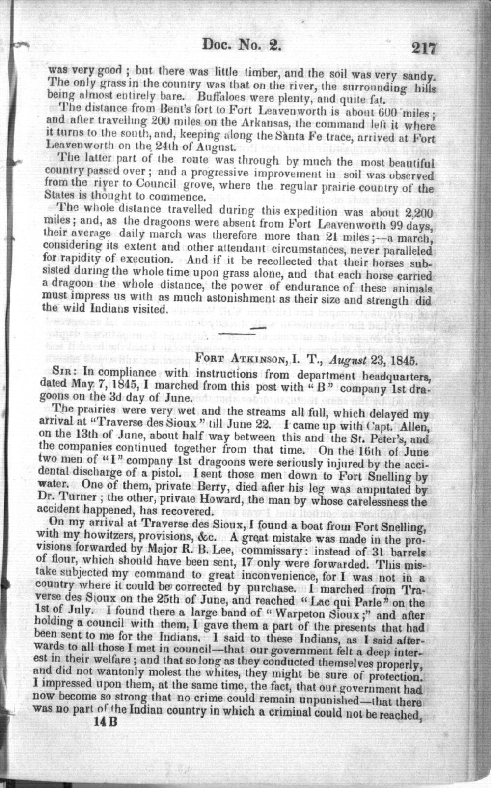 Abstract of journals from the 1845 Kearny Expedition - 4