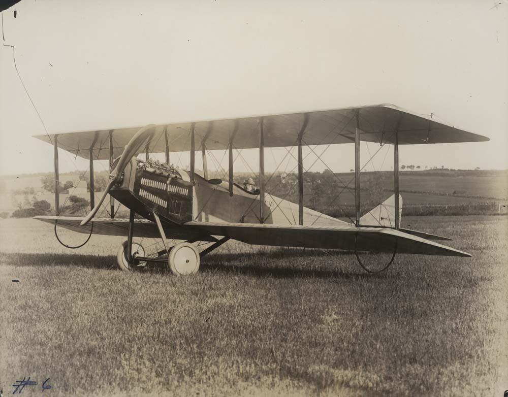 Albin K. Longren's No. 6, Model G airplane