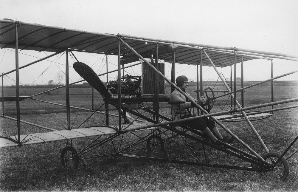 Albin K. Longren airplane