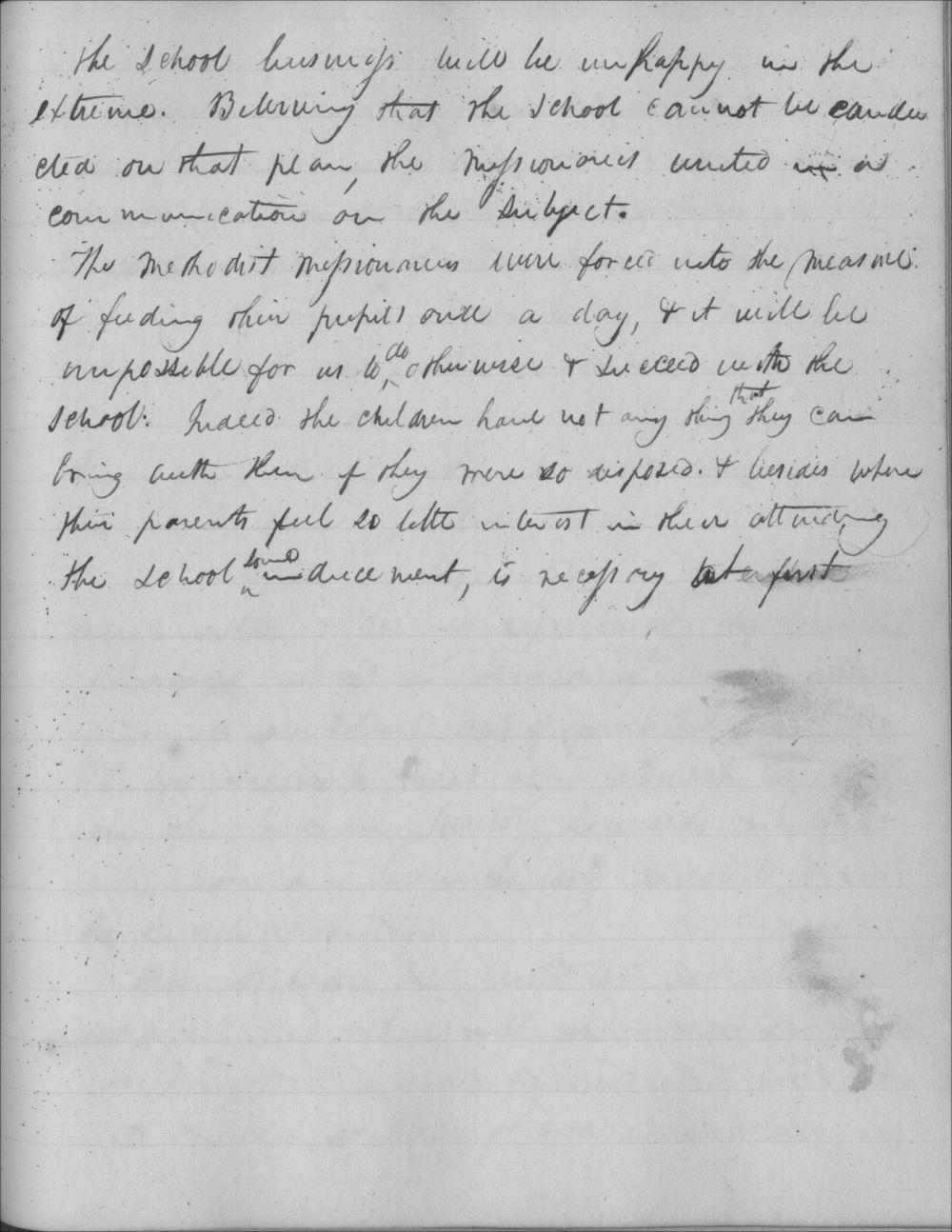 Johnston Lykins journal entry, October 27, 1832 - 2
