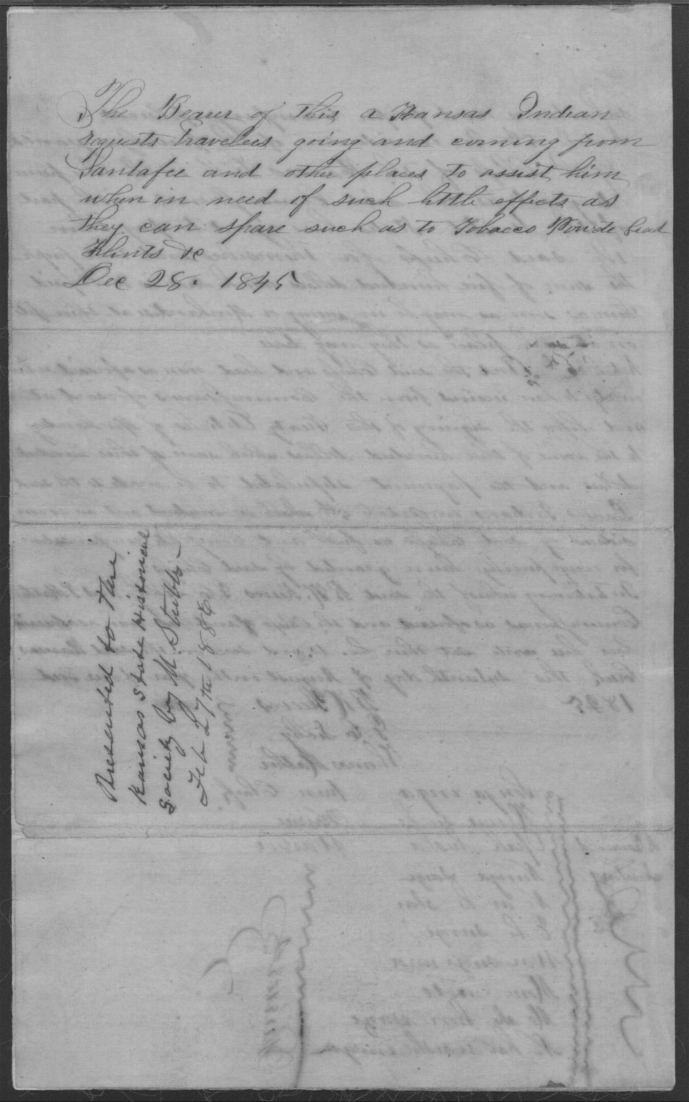 Treaty between the U.S. government and Kansa tribe - 4