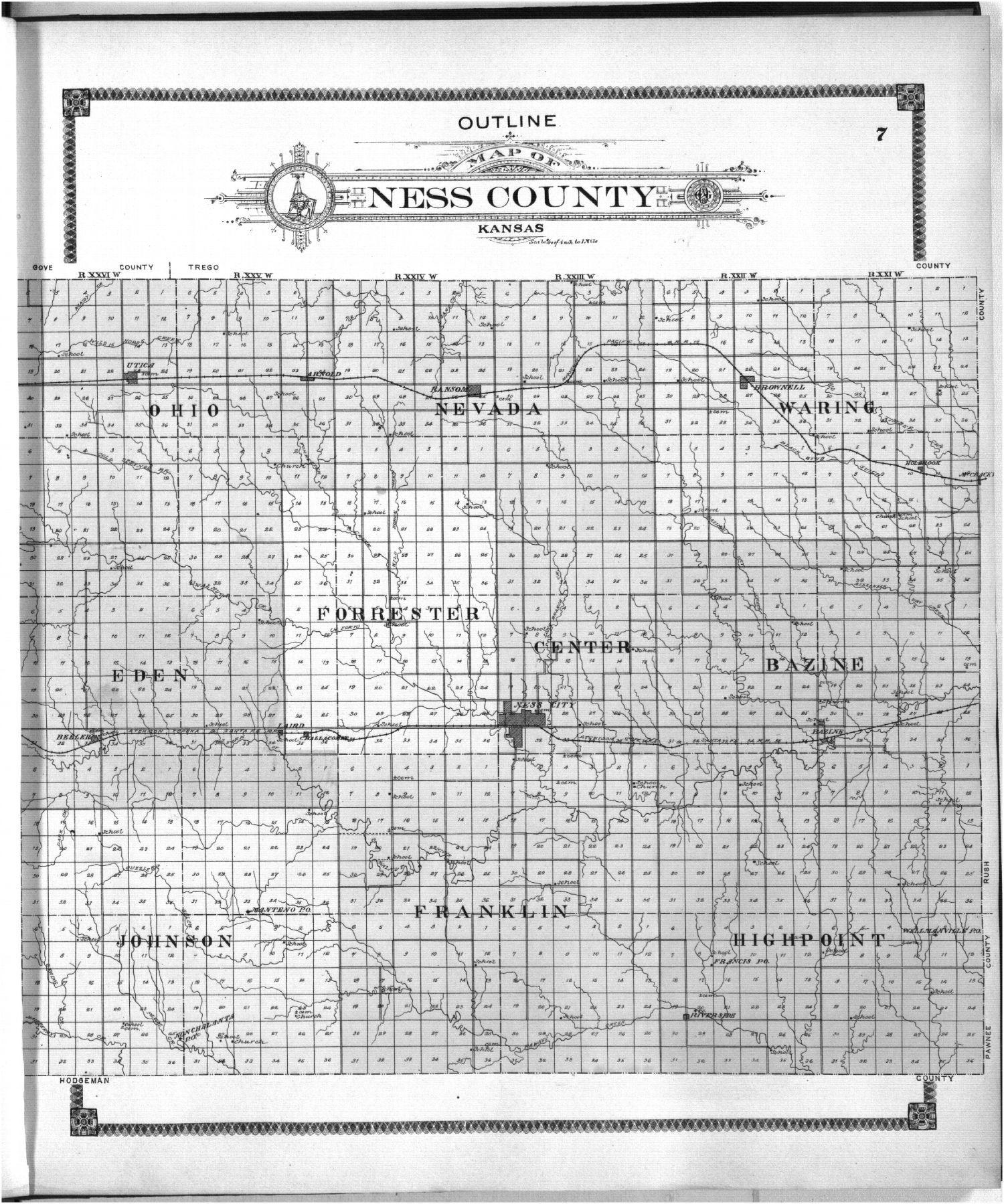 Standard atlas of Ness County, Kansas - 7