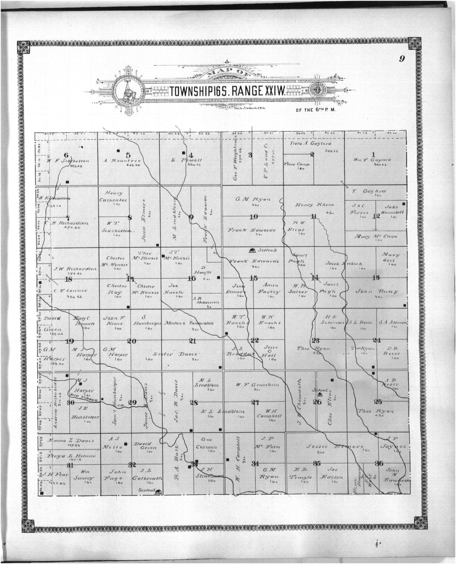Standard atlas of Ness County, Kansas - 9
