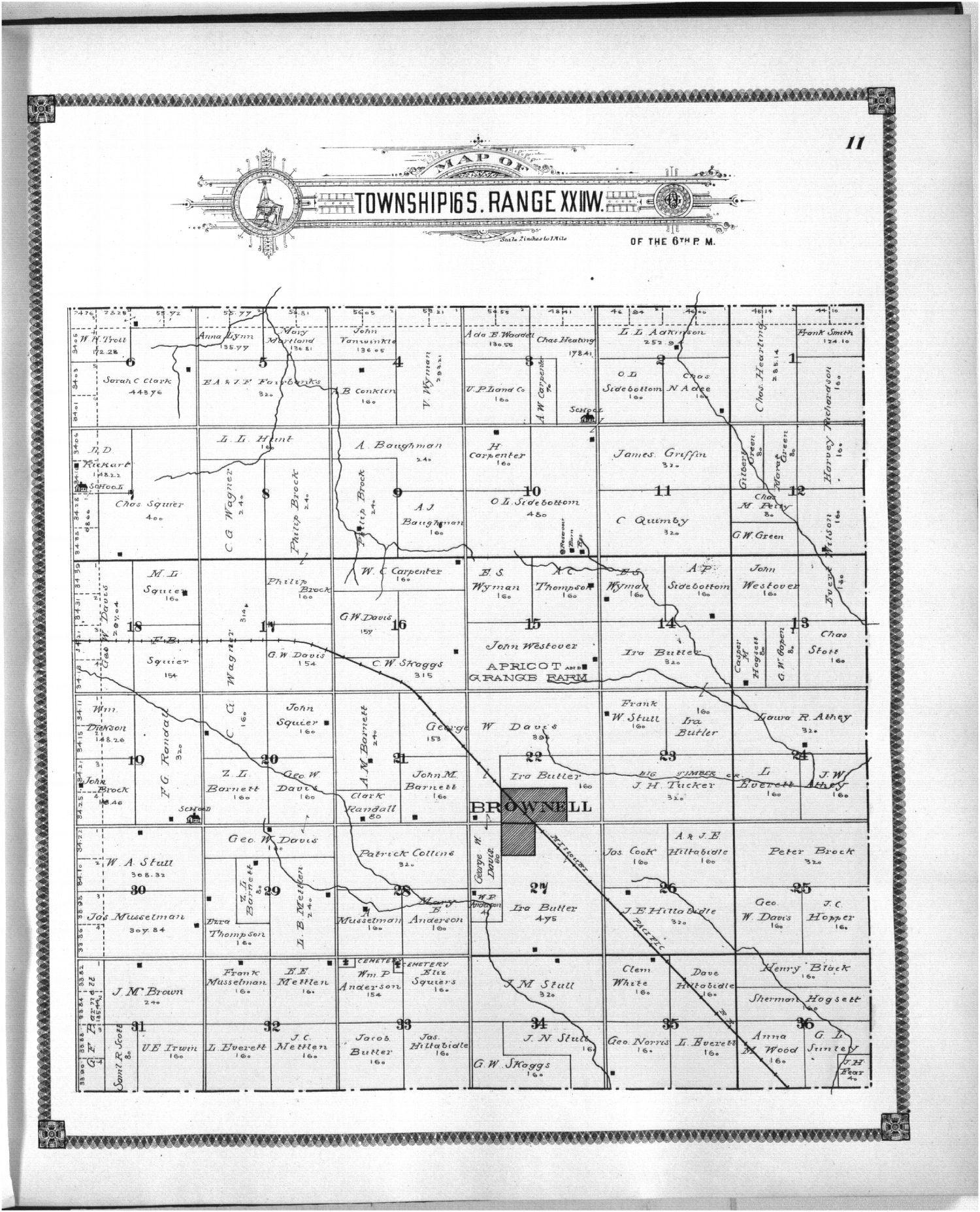 Standard atlas of Ness County, Kansas - 11