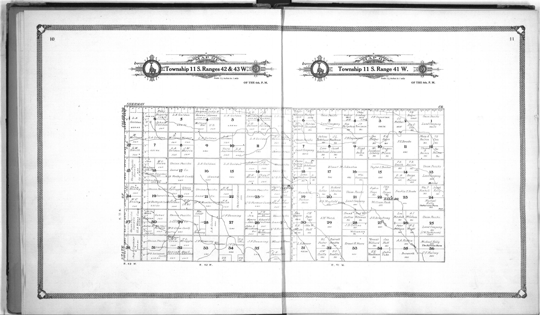 Standard atlas of Wallace County, Kansas - 10 &  11