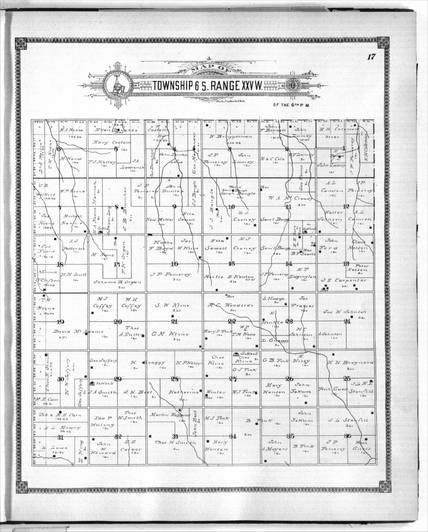 Standard atlas of Graham County, Kansas - 17