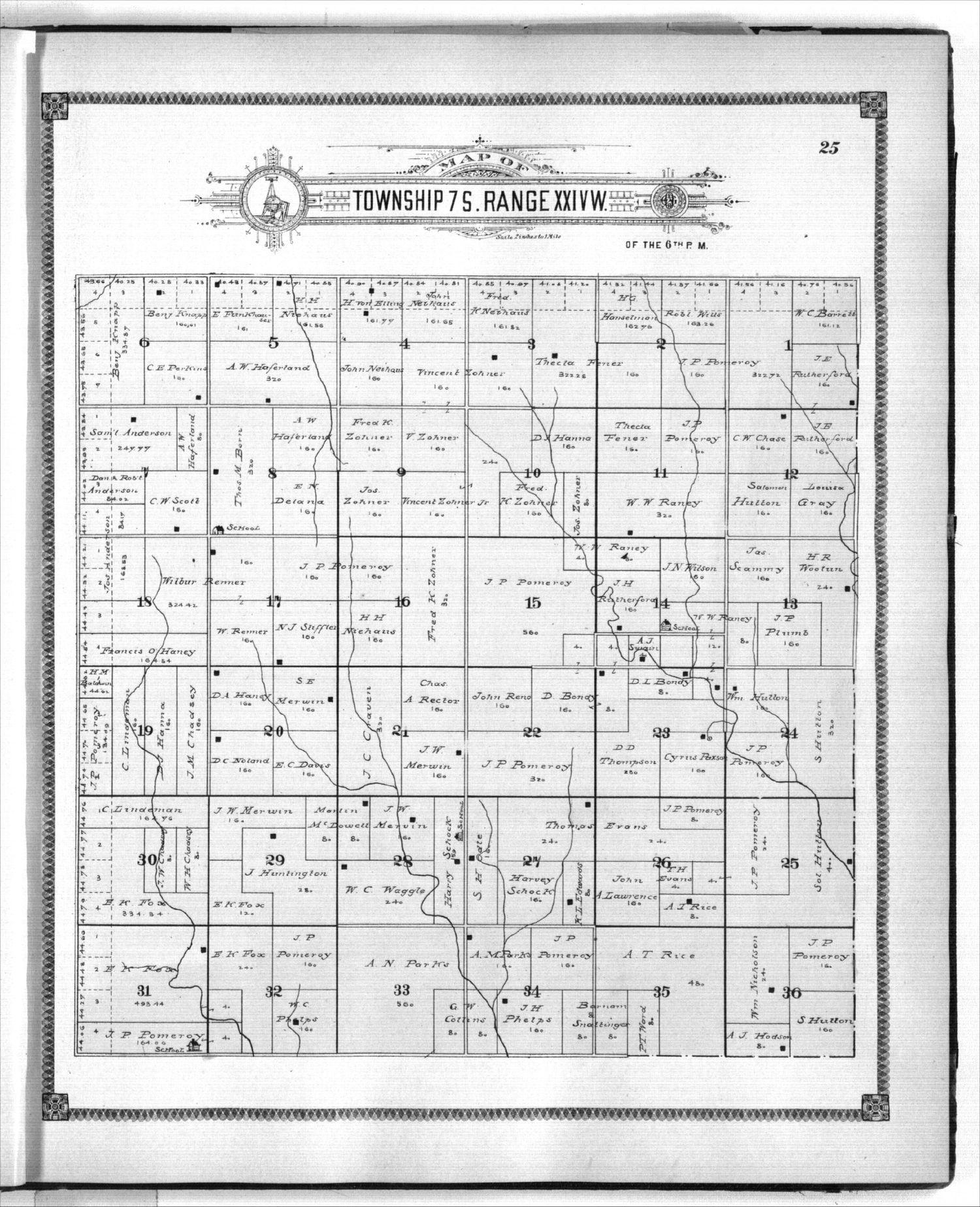 Standard atlas of Graham County, Kansas - 25