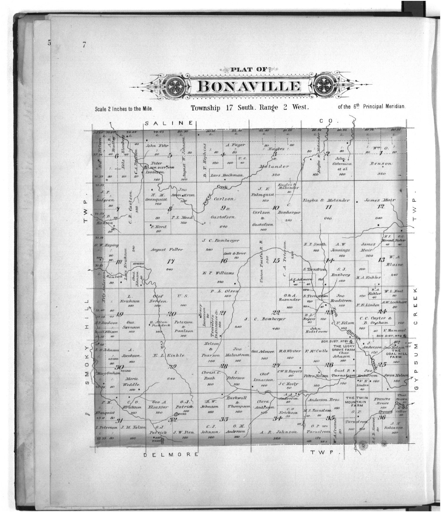 Plat book of McPherson County, Kansas - 7